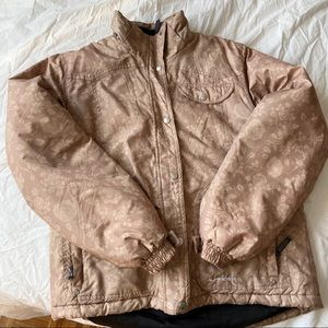 ALPINETEX Floral Puffer Jacket -Size M